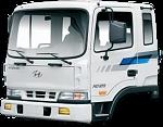 Ремонт кабины и оснащения кабины на автомобиле Hyundai HD120