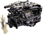 Ремонт двигателей на автомобиле Hyundai HD450