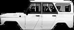 Ремонт кузова и оснащения кузова на автомобиле УАЗ Хантер (Hunter)