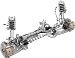 Ремонт передней подвески на автомобиле Ford Transit Connect