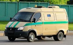 Модификация на базе ГАЗ-2705