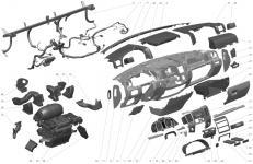 Торпеда и панель приборов ГАЗель Бизнес