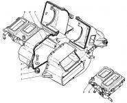Распределение воздушных потоков в кабине автомобиля ГАЗель