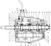 Схема КПП ГАЗ 3309