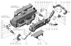 Схема ЕГР на ММЗ Д-245 ЕВРО-4